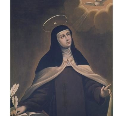 St Teresa of Avila. The early years